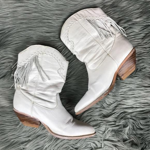 56b7ee6d316 Zodiac Shoes | Zline Marla Fringe Cowboy Ankle Boot Sz 65 | Poshmark